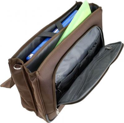 Кейс для ноутбука Samsonite X-Blade Business Brown (V71-03102) - в открытом виде