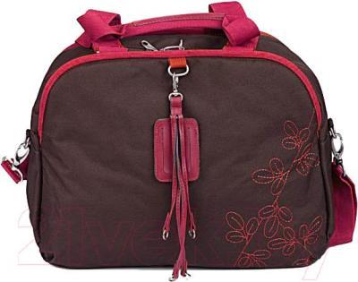 Сумка для ноутбука American Tourister Line 11A-23041 (коричнево-розовый) - общий вид