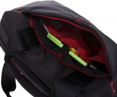 Сумка для ноутбука Samsonite Finder Black (U42-09005) - боковое отделение