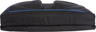 Сумка для ноутбука Samsonite Flexxea Black-Blue (11U-19002) - вид лежа