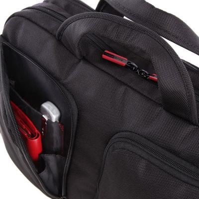 Сумка для ноутбука Samsonite Flexxea Black-Red (11U-09002) - боковой карман