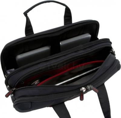 Сумка для ноутбука Samsonite Laptop Pillow 3 Black (U43-09003) - в раскрытом виде
