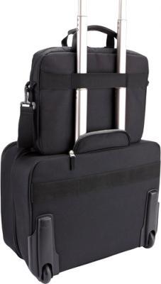 Сумка для ноутбука Case Logic AUA-314 - опция крепления сумки к дорожному чемодану