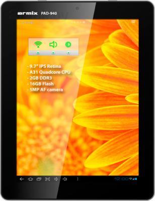 Планшет Armix PAD-940 Retina 16GB - общий вид