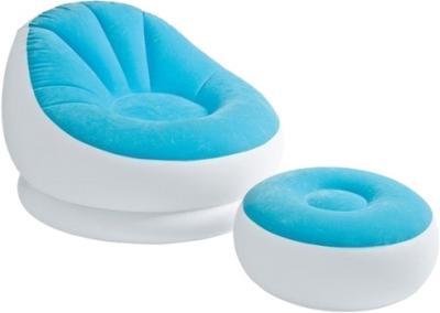 Надувное кресло Intex 68572 с пуфиком - общий вид