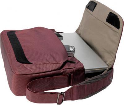Сумка для ноутбука Tucano Expanded WorkOut Messenger Burgundy (BEWOMS15-BX)