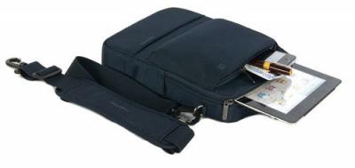Сумка для ноутбука Tucano Dritta Vertical Bag for Tablets Blue (BDRV-B) - с планшетом и принадлежностями