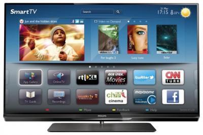 Телевизор Philips 32PFL6008T/60 - вид спереди