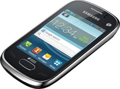 Мобильный телефон Samsung S3802 Rex 70 Duos Metalic Silver - общий вид