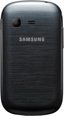Мобильный телефон Samsung S3802 Rex 70 Duos Metalic Silver - задняя крышка