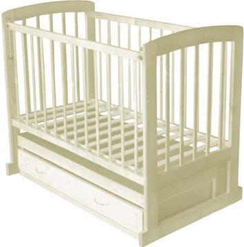 Детская кроватка Лескоммебель Лиза H8-6/1г (Бежевая) - общий вид