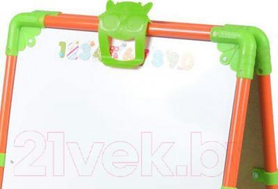 Мольберт детский двусторонний Ника M1 (Оранжевый)