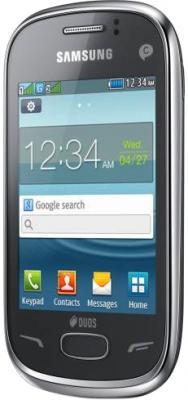 Мобильный телефон Samsung S3802 Rex 70 Duos Silver (GT-S3802 MSWSER) - общий вид