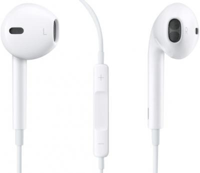 Наушники-гарнитура Apple EarPods with Remote and Mic (MD827) - общий вид