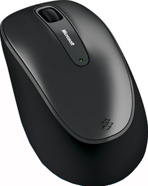Мышь Microsoft Wireless Mouse 2000 - вид сбоку