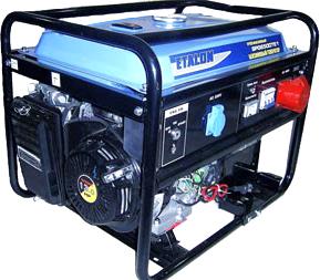 Бензиновый генератор Etalon SPG 6500 TE2 - общий вид