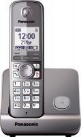 Беспроводной телефон Panasonic KX-TG6711 (серый металлик) -
