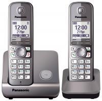 Беспроводной телефон Panasonic KX-TG6712 (серый металлик) -