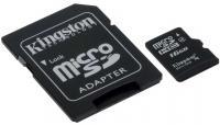 Карта памяти Kingston microSDHC 16 Gb (SDC4/16GB) -