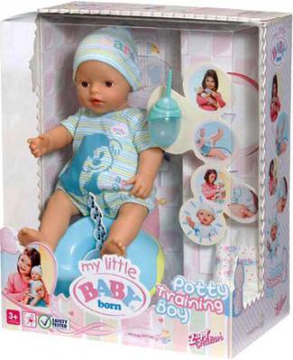 Кукла-младенец Zapf Creation Baby Born Приучаемся к горшку (817087) - упаковка