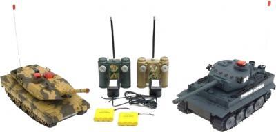 Радиоуправляемая игрушка WINEYA Танковый бой Tiger vs Abrams (508-10) - общий вид