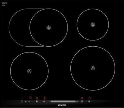 Индукционная варочная панель Siemens EH675MB17E - общий вид