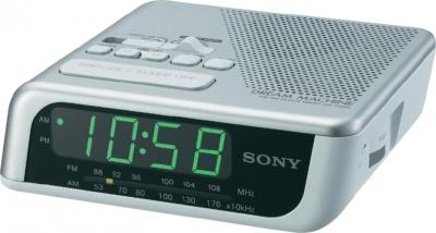 Радиочасы Sony ICF-C205S - общий вид