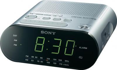 Радиочасы Sony ICF-C218S - общий вид