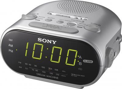 Радиочасы Sony ICF-C318S - общий вид