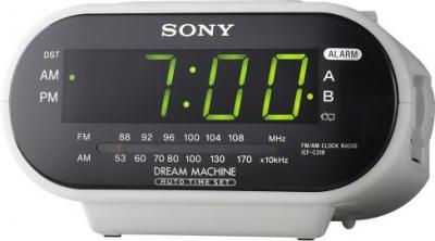 Радиочасы Sony ICF-C318S - дисплей