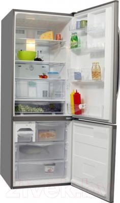 Холодильник с морозильником Panasonic NR-B591BR-N4