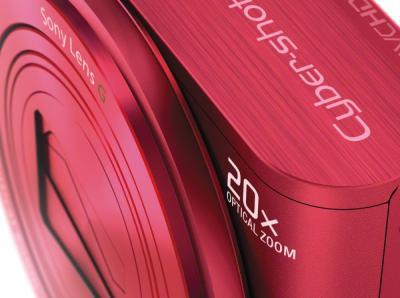 Компактный фотоаппарат Sony Cyber-shot DSC-WX300 (красный) - детальное изображение