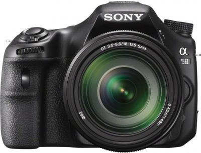 Зеркальный фотоаппарат Sony SLT-A58M Kit 18-135mm - общий вид