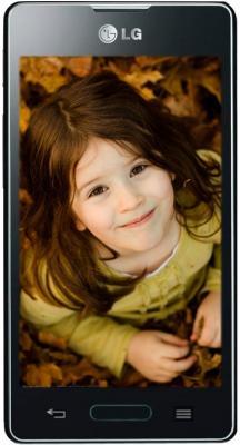 Смартфон LG E450 Optimus L5 II (черный) - общий вид