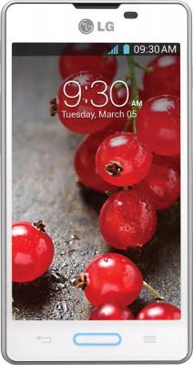 Смартфон LG E450 Optimus L5 II (белый) - общий вид