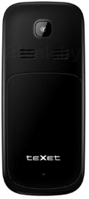 Мобильный телефон TeXet TM-D108 (Black) - задняя панель
