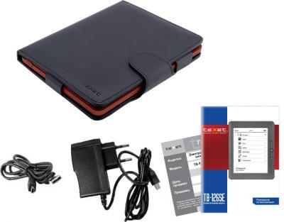 Электронная книга TeXet TB-126SE (Gray) - комплектация