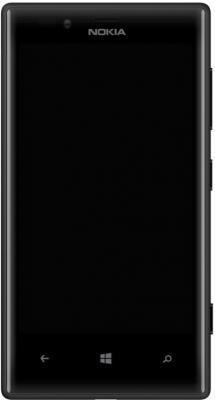 Смартфон Nokia Lumia 720 Black - общий вид