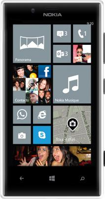 Смартфон Nokia Lumia 720 White - общий вид
