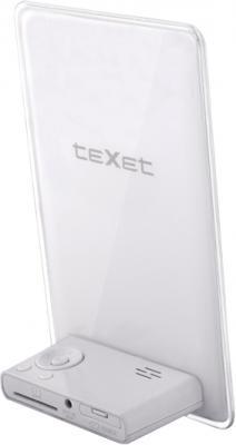 Цифровая фоторамка TeXet TF-612 White - вид сзади
