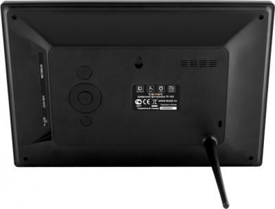 Цифровая фоторамка TeXet TF-102 Black - вид сзади