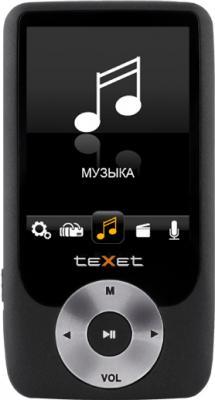 MP3-плеер TeXet T-795 (4GB) Black - общий вид