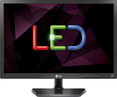 Монитор LG E20EN33S-B Black - фронтальный вид