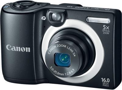 Компактный фотоаппарат Canon PowerShot A1400 Black - общий вид
