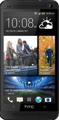 Смартфон HTC One Black - общий вид