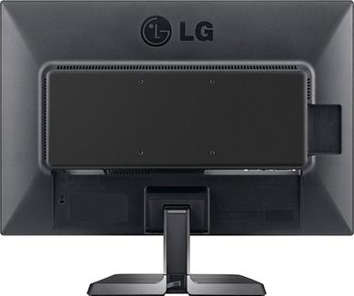 Монитор LG 24EB23PY-B Black - вид сзади