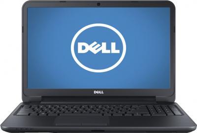 Ноутбук Dell Inspiron 15 (3521) 272211975 (111900) Black - фронтальный вид