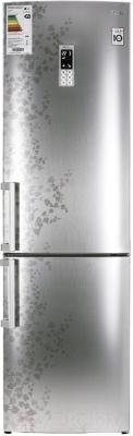Холодильник с морозильником LG GA-B489ZVSP - общий вид