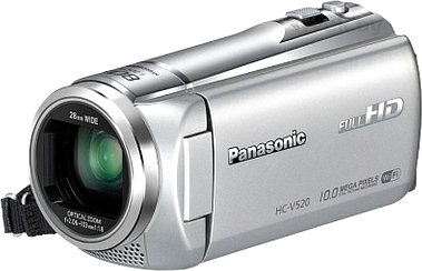 Видеокамера Panasonic HC-V510EE-S - общий вид