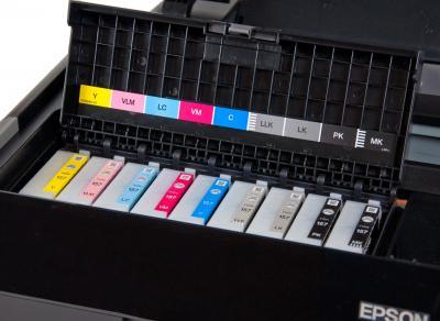 Принтер Epson Stylus Photo R3000 - картриджи